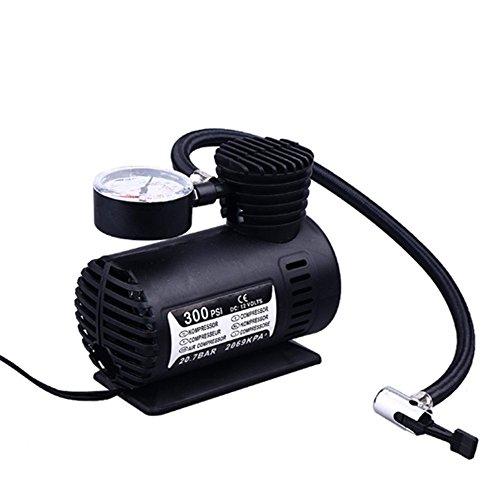 [해외]Schoolsupply 1pcs 자동차 풍선 펌프 휴대용 미니 공기 펌프 압축기 DC 12V 300 PSI 자동 전기 풍선 펌핑 모토 자전거 공/Schoolsupply 1pcs Car Inflatable Pump Po