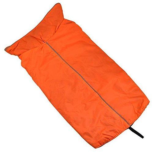 Yahee Hundemantel Regenmantel Hund Hundebekleidung Hundejacke Wintermantel Regenjacke (M, Orange)