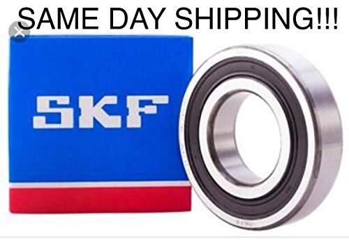 6008-2RS Bearing 40x68x15 Ball Bearing Dual Sided Rubber Sealed Deep Groove 4PC