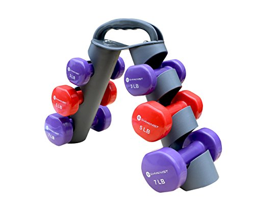 GYMENIST Dumbbell Dumbbells Foldable Display product image