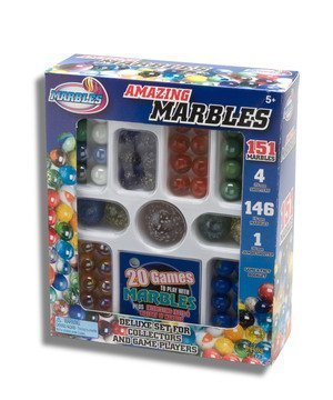 Amazing Marbles Deluxe 151 Set for Collectors and Game -
