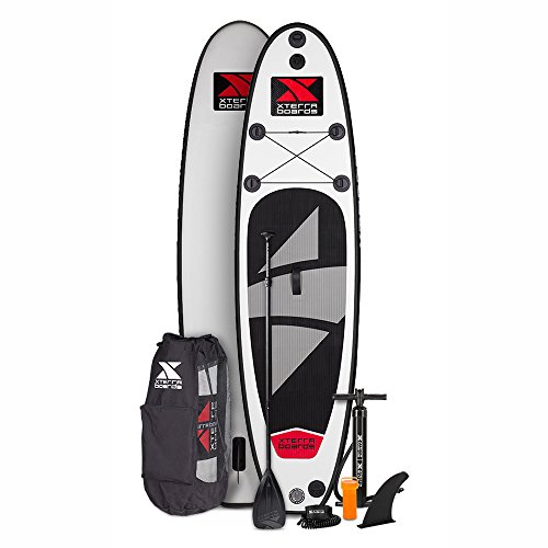 Double Roller Specs (XTERRA Inflatable 10' Stand Up Paddle Board Premium SUP Bundle | Includes Board, Pump, Adjustable Paddle, Easy Transport Back Pack, Ankle Leash and Repair Kit)