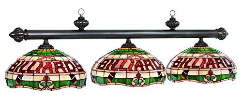 56In. 3 Shade Billiard Lamp