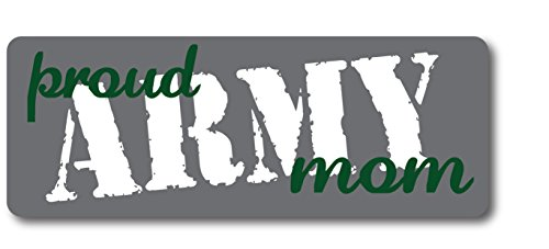 Proud Army Mom Magnet Decal Perfect for Car or Truck - 3x8