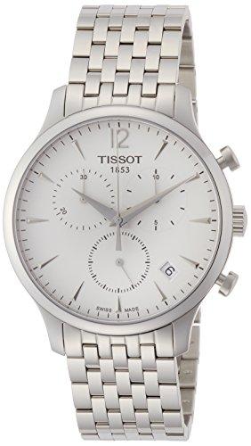 (Tissot Men's T0636171103700 Analog Display Quartz Silver Watch)