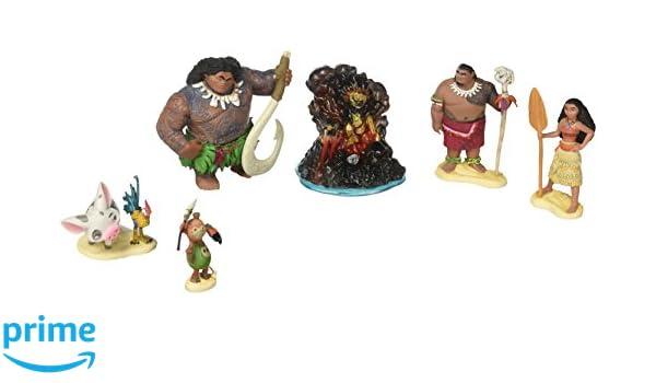 Amazon.es: Disney Estatuilla de Moana Playset: Juguetes y juegos