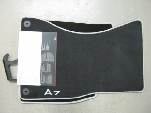 set audi mat es floor parts rubber black mats featuring all b volkswagen weather genuine