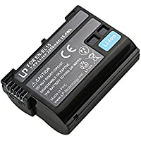 EN-EL15 Battery for Nikon D600, D610, D750, D800, D800e, D810, D810a, D7000, D7100, D7200, 1 v1 Cameras | Rechargeable Li-Ion Battery