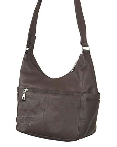 C Leather Genuine Paul Hobo 1649 Shoulder Bag Brown amp; Classic Taylor qtxFxwAaz