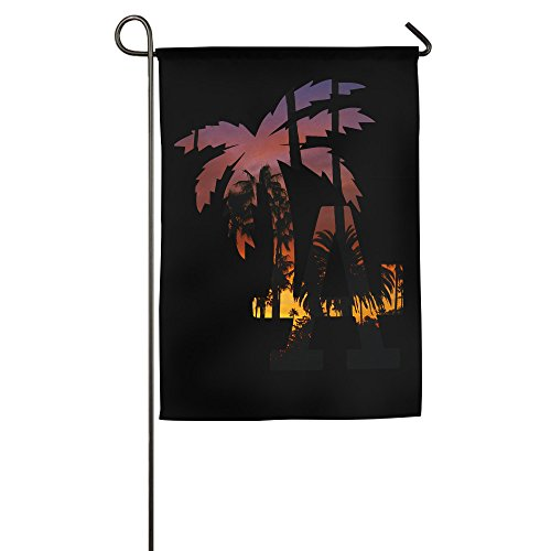 Hioyio California Los Angeles House Flag&Garden - Fendi California