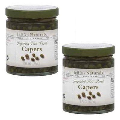 Jeff's Naturals Capers Non Pareil 12x 6OZ