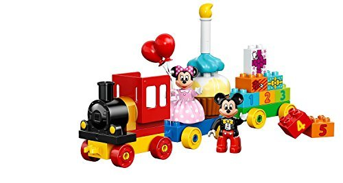 DUPLO (24 Pcs) Mickey and Minnie Birthday Figures Toys ()