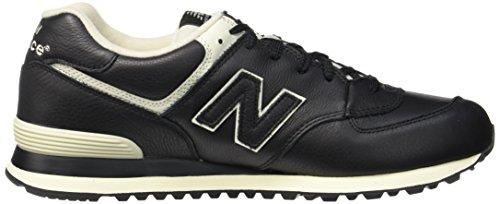 Nuovo Equilibrio Herren 574 Sneaker Schwarz (nero 001)