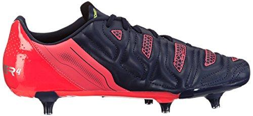 Puma evoPOWER 4.2 SG - zapatillas de fútbol de material sintético hombre azul - Blau (peacoat-white-bright plasma 01)