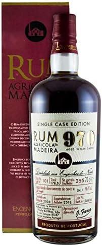 2008 Rum Agrícola da Madeira 970 Single Cask Edition Pipa 101 ...