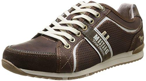 4091 301 32 Mustang Sneakers Braun Dunkelbraun Herren 32 A1d7q