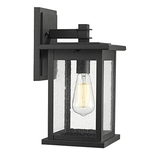 Emliviar Outside Lights for House, 1-Light Outdoor Wall Lantern 14