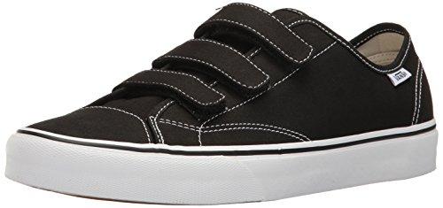 Vans Unisex Schuhe Stil 23 V (Canvas) Skate Sneakers Schwarz