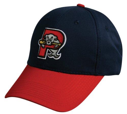 MiLB Minor League ADULT Portland SEA DOGS Hat Cap Adjustable Velcro TWILL