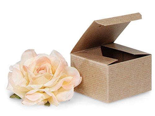 Miller Brown Case - 100% Recycled Kraft Gift Boxes - Brown Kraft Gift Boxes 3x3x2