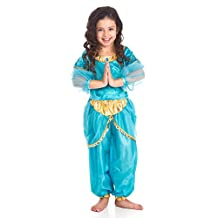 Little Adventures Traditional Arabian Princess Girls Costume - Large (5-7 Yrs)