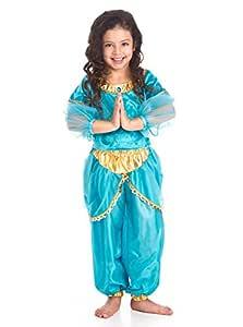 Little Adventures Niñas Princesa árabe Tradicional Costume - X ...