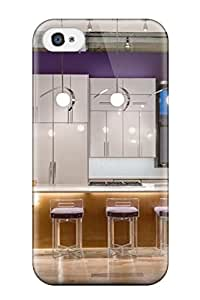 Cute High Quality Iphone 4/4s Modern Pendant Lights Over Island In Loft Kitchen Case