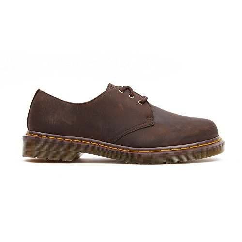 Hombre Cordones Zapatos Derby Martens 1461 Dr Horse Crazy para Marrón de Oxford Brown wqazSTq
