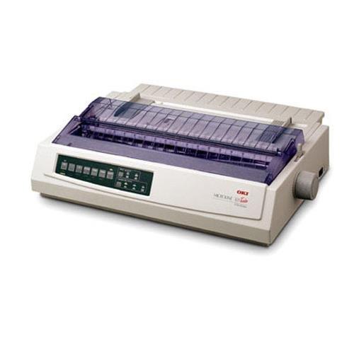 OKI Data Microline 320 Turbo 9-Pin Dot Matrix Printer, 435cps Print Speed, 240×216 dpi, Parallel Port/USB, 50/60 Hz, 230V