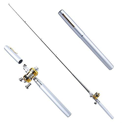 SUPOW Telescopic Mini Fishing Rod [8''-39''] - Aluminum Alloy