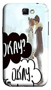 Online Designs fault in our stars kissed his forehead PC Hard new galaxy note2 cases