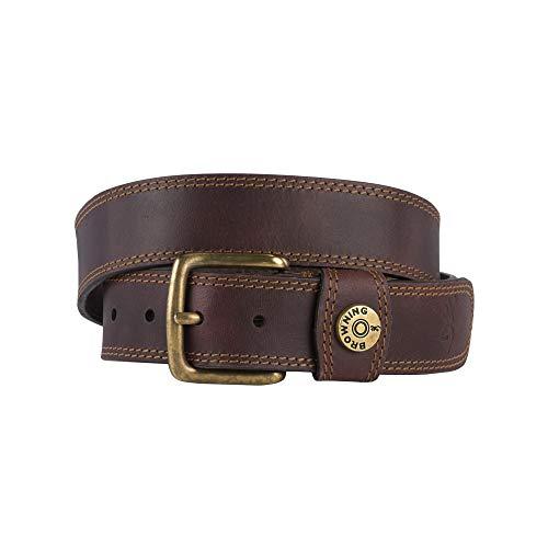 - Browning Men's Leather Slug Belt | Brown | 40