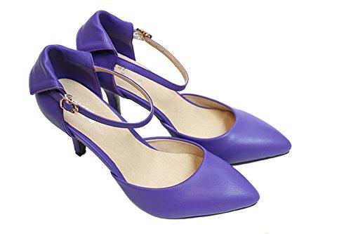 CFP - Zapatos de tacón  mujer PurpleBlue