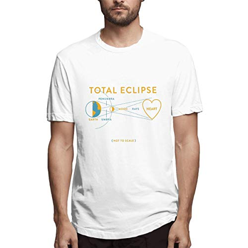 27dd6f14065 XKCL Total Eclipse of The Heart Not to Scale Personalize T Shirts  Short-Sleeve for