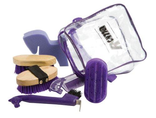 Roma Pony Grooming Kit - PURPLE