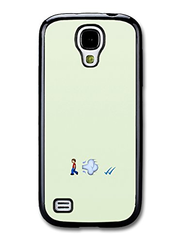 Emoji Fart and Tick Funny coque pour Samsung Galaxy S4 mini