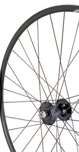 Sta Tru Black High Flange Track Hub Front Wheel (700X20)