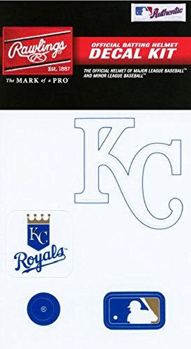 Rawlings Sporting Goods MLBDC Decal Kit, Kansas City -