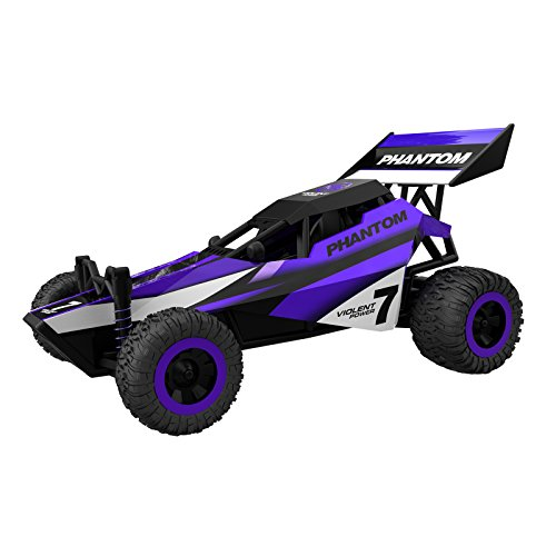 Cheerwing 1:32 Mini RC Racing Car 2.4Ghz 2WD High Speed Remote Control Buggy Purple