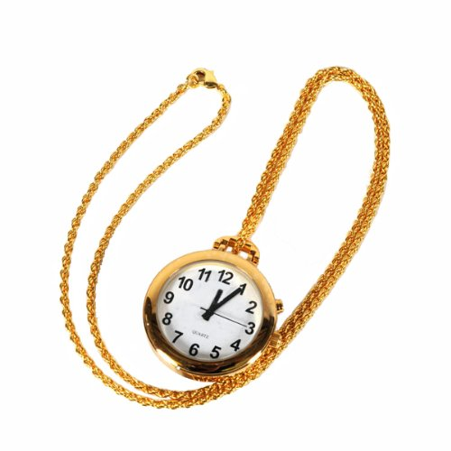 Talking Pendant Pocket Watch with Choice of Voice