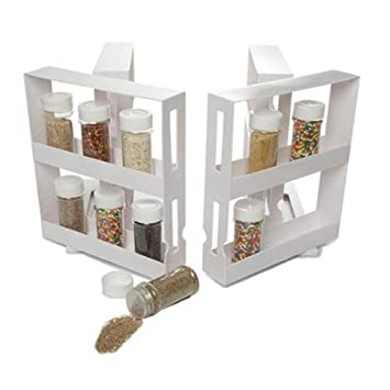 Delicieux LightInTheBox Swivel Store Organizer Storage System N More Cabinet Organizer  Sliding Space Saver Spice 2 Racks
