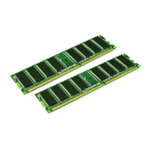 Memory 667 Kit Registered (KINGSTON ORIGINAL 2GB Kit (2 x 1GB) KVR667D2D8P5/1G - DDR2-667 ECC Registered Memory for Servers)