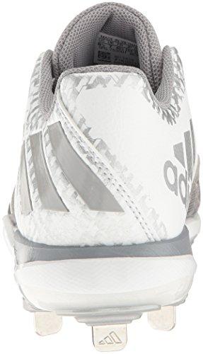 Poweralley Performance Adidas Delle Argento 4 Metallizzato Donne Scarpa Di Alluminio W Da Baseball Bianco RqrwCfRx