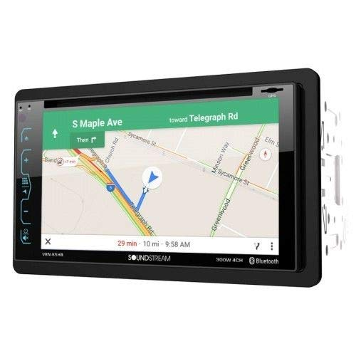 2-DIN GPS/DVD/CD/MP3/AM/FM Receiver with 6.2