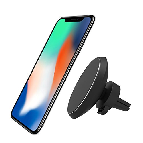 Magnetic car charger mount neotrix wireless qi 4