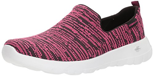 Nirvana Walk Sneaker Go Pink Hot Donna Black Infilare Joy Skechers w15tq4w