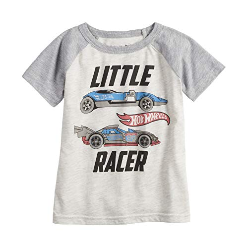 Jumping Beans Toddler Boys 2T-5T Hot Wheels Little Racer Graphic Tee 2T