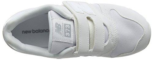 New Balance Unisex-Kinder Kv373awy M Sneaker Weiß (White)