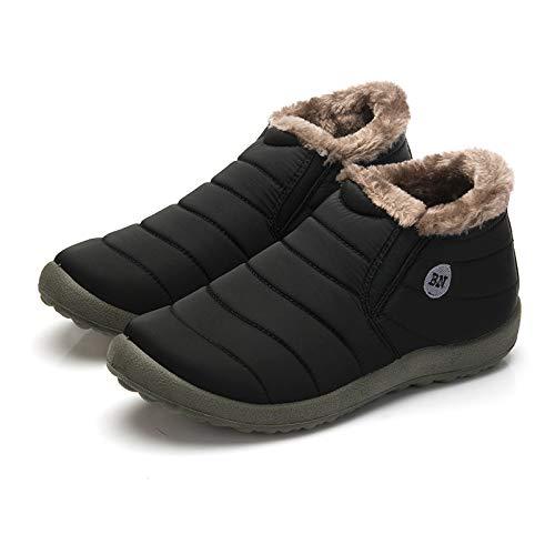 FHCGMX Herren Herren Herren Stiefel Winter Warm halten Baumwolle Schuhe Klassische Unisex Lässige Mode Ski Schnee Männliche Stiefel Große Größe 19f39b