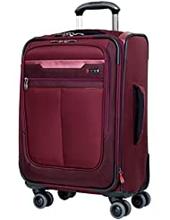 Ricardo Beverly Hills Bel Aire 20-Inch 4 Wheel Expandable Wheelaboard, Wine, One Size
